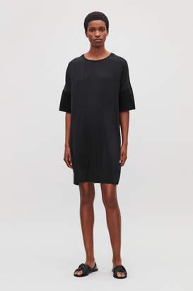 Cos SILK-JERSEY T-SHIRT DRESS