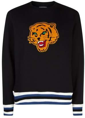 Sandro Tiger Patch Sweatshirt