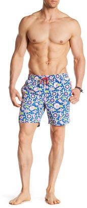 Mr. Swim Lace Floral Swim Trunk $75 thestylecure.com