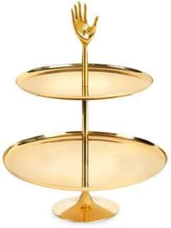 Jonathan Adler Eve Two-Tier Brass Tray