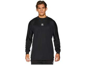 adidas Authentics 3-Stripes Jersey Men's Long Sleeve Pullover
