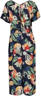 f5e5600c6975 Dorothy Perkins Womens Multi Colour Tropical Floral Print Jumpsuit