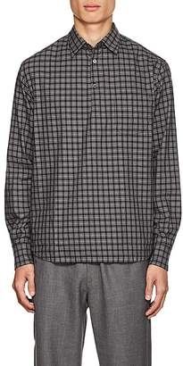 Barena Venezia Men's Checked Cotton Long-Sleeve Shirt