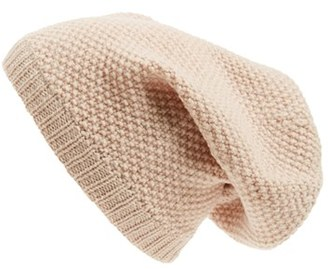 Women's Sole Society Wool Knit Beanie - Ivory $24.95 thestylecure.com