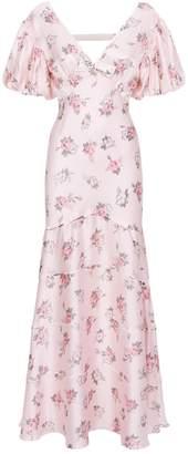 LoveShackFancy Love Shack Fancy Lilia Puff Sleeve Maxi Dress