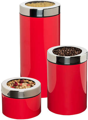 Honey-Can-Do Set of 3 Retro Canisters