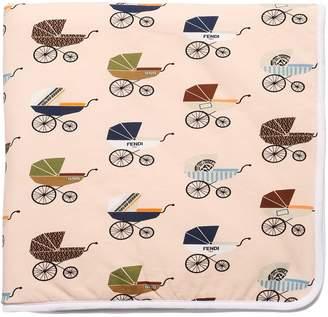 Fendi Buggy Print Cotton Jersey Blanket