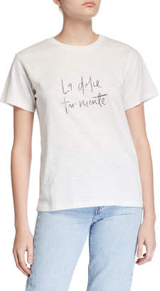 Charlie Holiday La Dolce Regular Tee