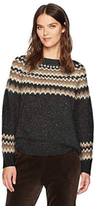 Vince Women's Fair Isle Raglan