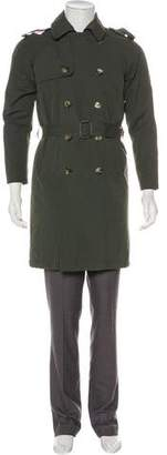 Band Of Outsiders Double-Breasted Knee-Length Coat