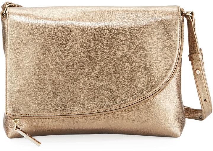 Elaine Turner Nadia Metallic Leather Shoulder Bag