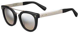 Bobbi Brown Woodson-S 48mm Oval Sunglasses