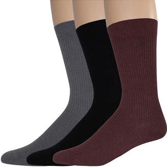 Dockers 3-pk. Rib Crew Socks