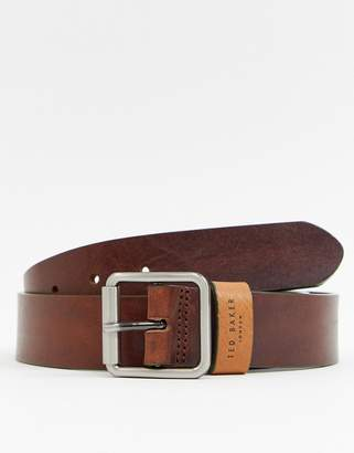 Ted Baker Eyye Leather Belt