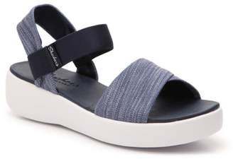 Skechers Cali Light Star Summer Saga Wedge Sandal