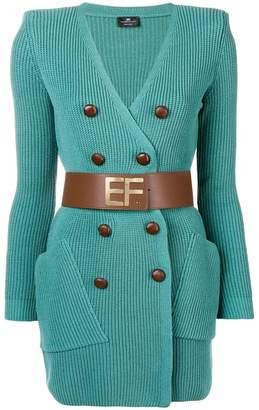 Elisabetta Franchi button embellished dress