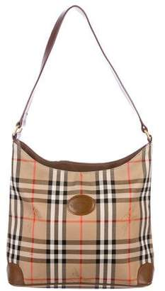 8ddf380cedb3 Burberry Vintage Horseferry Check Shoulder Bag