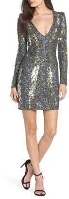 Mac Duggal Embellished Minidress
