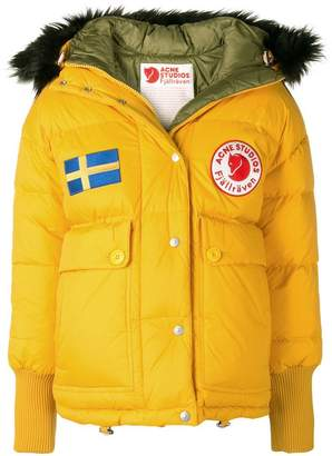Acne Studios Fjällräven Reversible down jacket