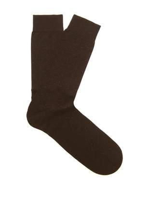 Pantherella Gadsbury pin-dot socks
