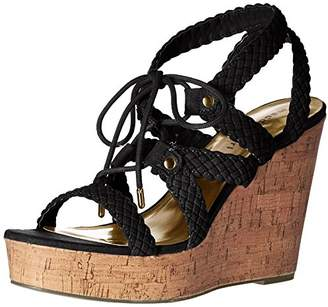 Madden-Girl Women's Emboss-c Wedge Sandal