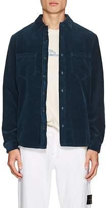 Barneys New York Stone Island XO Men's Cotton Corduroy Shirt Jacket
