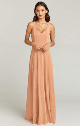 Show Me Your Mumu Jenn Maxi Dress ~ Dancing Queen Shine Copper