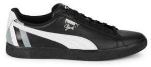 Puma Logo Leather Sneakers