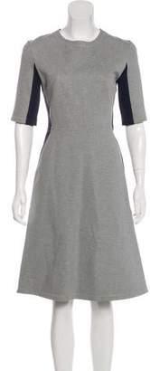 Richard Nicoll Paneled Midi Dress