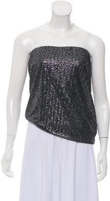 Theory Sequin Strapless Top