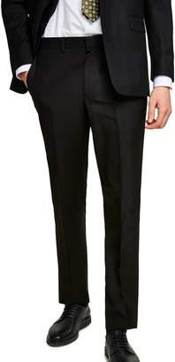 Topman Slim Fit Suit Trousers