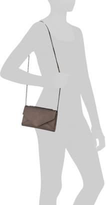 Saffiano Leather Hannah Chain Crossbody
