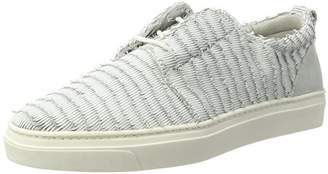 Maruti Women's Carly Peacock Leather Trainers
