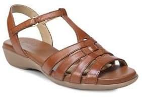 Naturalizer Nanci T-Strap Leather Sandals