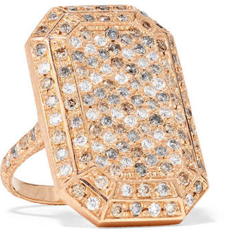 Carolina Bucci 18-karat Rose Gold Diamond Ring