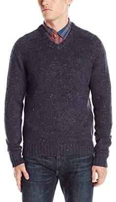 Original Penguin Men's Lambswool Blend V-Neck Sweater
