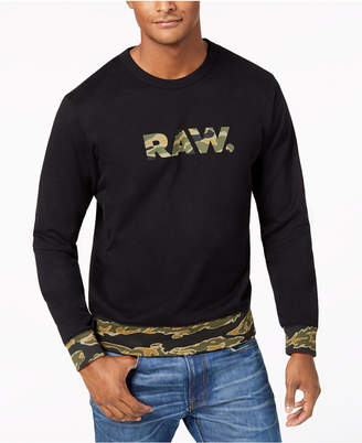 G Star Men's Tahire Graphic Sweatshirt, Created for Macy's