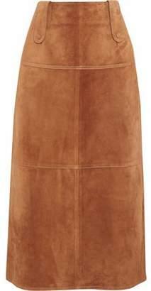 Derek Lam Suede Midi Skirt