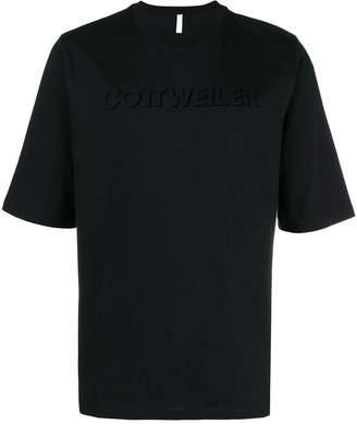 Cottweiler logo print T-shirt