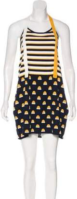 See by Chloe Patterned Halter Dress