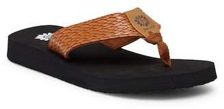 Yellow Box Flax Flip Flop Sandal (Women)