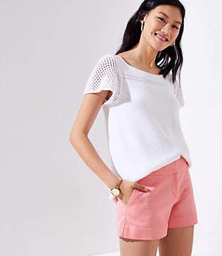 LOFT Petite Riviera Shorts with 3 1/2 Inch Inseam