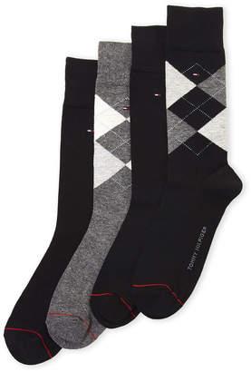 Tommy Hilfiger 4-Pack Crew Socks