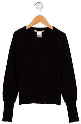 Alice + Olivia Girls' Cashmere Colorblock Sweater