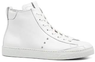 AllSaints Women's Crey Leather High Top Lace Up Sneakers