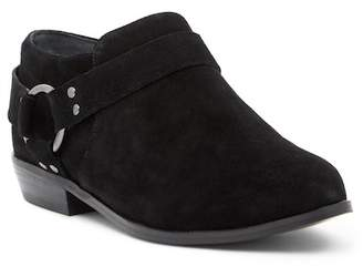 Fergie Elise Suede Harness Ankle Boot