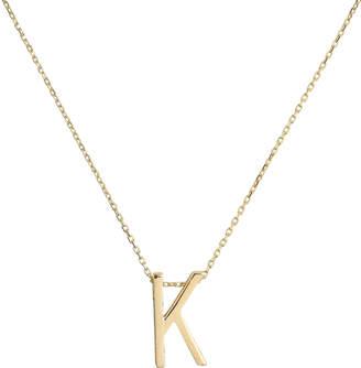 Nickho Rey K Alphabet Necklace