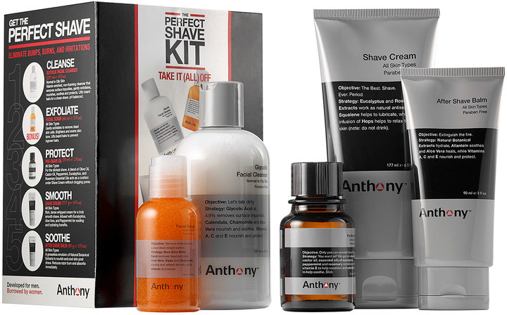 Anthony Logistics For MenAnthony The Perfect Shave Kit