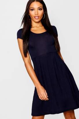 5e4a0e02c297 boohoo Blue Cap Sleeve Dresses - ShopStyle