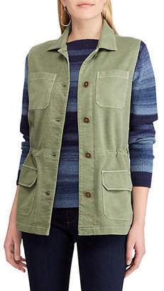 Chaps Braidy Washed Vest